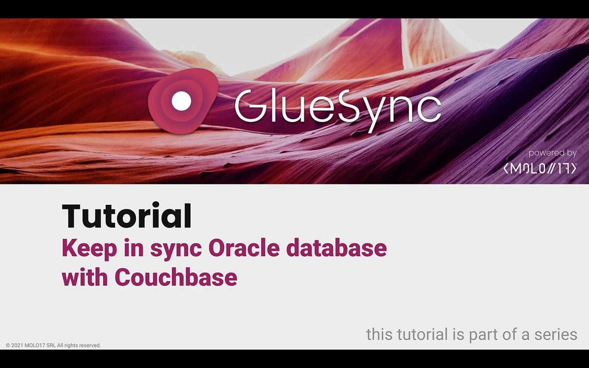 GlueSync tutorial sync Oracle